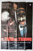 Terror Train Horror Poster - Spanish One Sheet